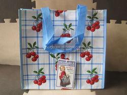 Laminating rpet tote bag/rpet shopping bag/eco rpet nonwoven bag