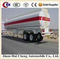 40000 L 6 Compartments Fuel Tanker Semi Trailer