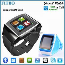 Brand Silm SIM + Camera + SIM best u8 watch phone for Apple 4S/5/5S/6/6S