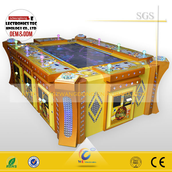 2015 hot sale shooting game machine video fishing game for Arcade fish shooting games