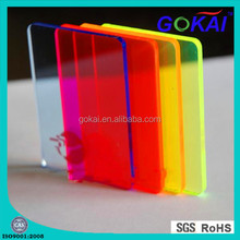 colored acrylic/PMMA/Plexiglass sheets