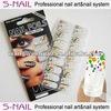 Adhesive nail wraps/nail sticker/nail foil for UK market (SNF095)
