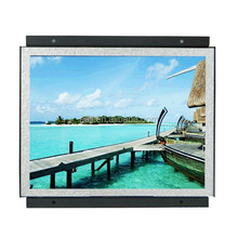 22 inch opern frame advertising screens elevators