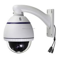 Outdoor 4inch PTZ 1.3 Mega 1080P Pixel 10x optical zoom IP ONVIF outdoor dome camera