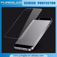 back screen guard for iphone 5 back screen protector tempered glass film ward cover