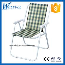 OEM Cheap Wholesale Beach Chairs Lightweight Folding Outdoor Reclining Chair