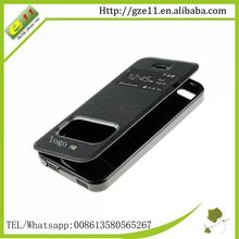 new product transparent flip case for iphone 5