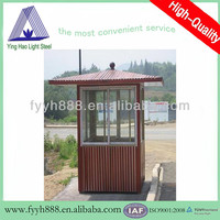 prefabricated booth outdoor booth mini booth assembled kiosk