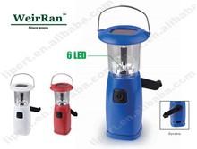 (130253) Emergency Solar Rechargeable LED Waterproof Dynamo Torchlight