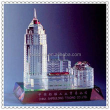 Excellent Crystal 3d Building Model For Trading Company
