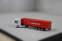 1:87 OEM metal cab plastic body truck model