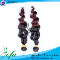 Best quality colored body wave weaving to be installed hair weaving nets