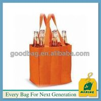 Most Competitive China Manufacturer non woven wine carrier bags MJ-NW0330-C