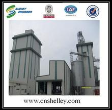 Usine d'huile utilisé de colza de rangement Grain acier Silo prix
