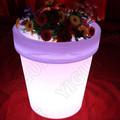 Llevó el pote de flor profesional a prueba de agua 16 colores Led / Led luz de la flor para el partido / jardín / decoración del hogar
