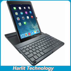 External Plastic Keyboard Rotatable Hard Case For iPad Air 2 Bluetooth Keyboard For iPad With Swiveling Hard Shell Case