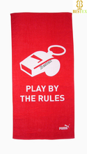 Cotton velour OEM USA Character printed promotional print towel