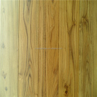 Natural stained textured Chinese teak hardwood floors solid wood flooring