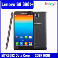 """Hot selling Original Lenovo S8 S898T+ Golden Warrior 5.3"""" 2GB RAM 16GB ROM Mobile Phone MTK6592 Octa Core Android 13.0MP"""