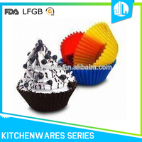 FDA silicone portable cheap cup cake case