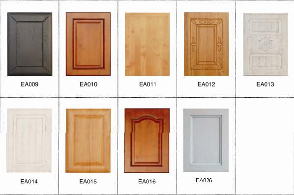 ak427 luxe en bois massif armoires de cuisine design pour
