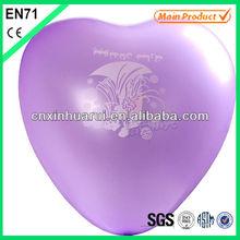 heart shaped ,100% natute latex balloon,married