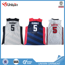 Sportwear wholesale basketball jersey set