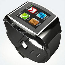 bluetooth watch ios sms notifications bluetooth 4.0 smart bracelet android smart mobile watch for cell phone