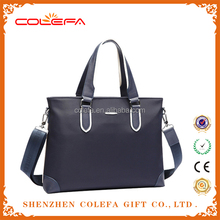 fatory wholesale OEM and ODM high quality real leater or pu leather laptopMen Business Bag