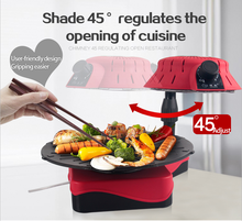 2015 new table portable electric infrared barbecue charcoal grill no any smoke