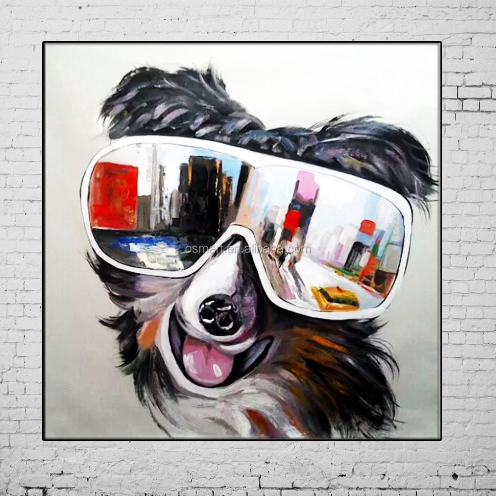 Super New peint à la main peintures Hot animaux photos 3D Zebra mur  EJ39