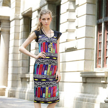 HFR-AN314-01 Europe 2015 ladies fashionable long casual dresses pictures