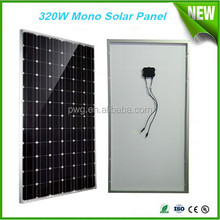 320W mono solar panel price per watt solar panel A grade solar cells