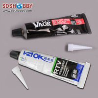 VAOK RTV Sealant/ Super Silicone Seal Glue for Gasoline Engines, Automobiles, Motors