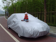Polyester car dust cover, auto accessories full car cover