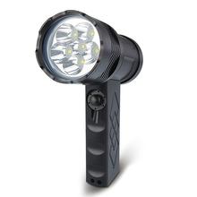 6000 lumens Cree cob led rohs flashlight