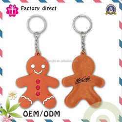 Made in China Eco-friendly customized soft rubber pvc keychain machine