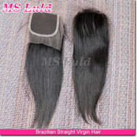 fashion new design silk top any style color #1b brazilian human hair bundles with closure