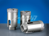 Diamond hole saw drills/ glass hole drills Vacuum Brazed segments