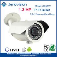 2015 new ONVIF 1080p 960p H.264 1.3 Megapixel Vari-Focal lens IR cut-bullet wifi outdoor ip camera