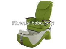 Green nail salon beauty pedicure chair