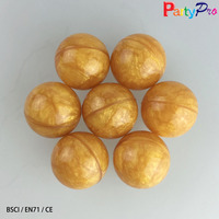 China Factory EN71 1800pcs/lot 27mm bouncy balls wholesale ball pit balls