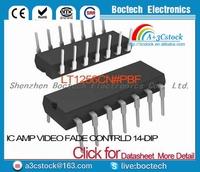 LT1256CN#PBF IC AMP VIDEO FADE CONTRLD 14-DIP LT1256CN 1256 LT1256 LT1256C 1256C T1256
