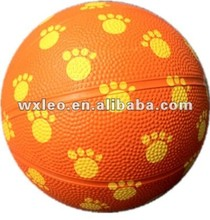 Indoor outdoor games rubber basketballs