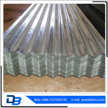 665 Galvanized corrugated steel roofing tiles