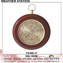 Wooden Weather Station Barometer Decor YG386-11