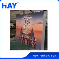 Good quality Modular Aluminum LED light box for salons
