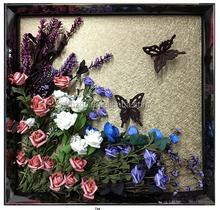 Guansheng GOS6060023 Modern Handmade Abstract Promotion Flower Wall Art