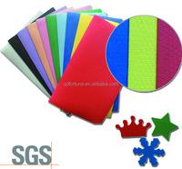 1.9mm A4 color embossing EVA foam sheet