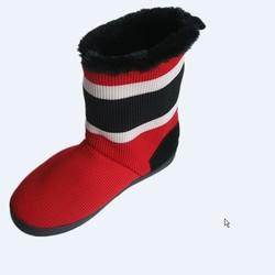 Cheap women flat durable winter boots golf shoes